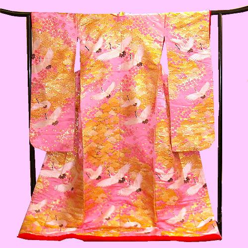 日本の婚礼衣装 色打掛