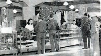 創業当時の京都シルクのお店