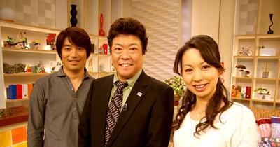 中西哲生(元Jリーガー)・京都シルク代表取締役 木村和雅・中村理恵(tvkアナウンサー)